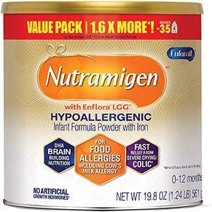 enfamil nutramigen hypoallergenic colic baby formula lactose free milk powder