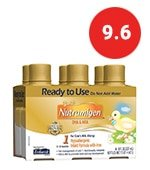 enfamil nutramigen hypoallergenic ready to feed colic baby formula lactose free milk, 8 fluid ounce (6 count) - omega 3 dha, probiotics, iron, immune support