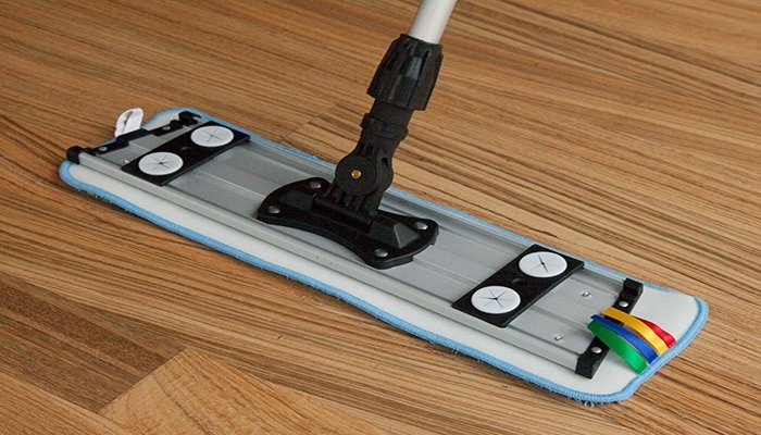 hardwood floor mopping