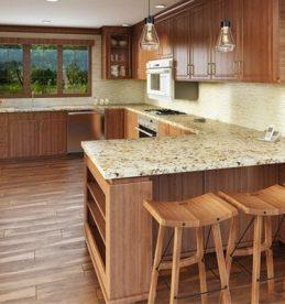 lowdown on hardwood floors in the kitchen