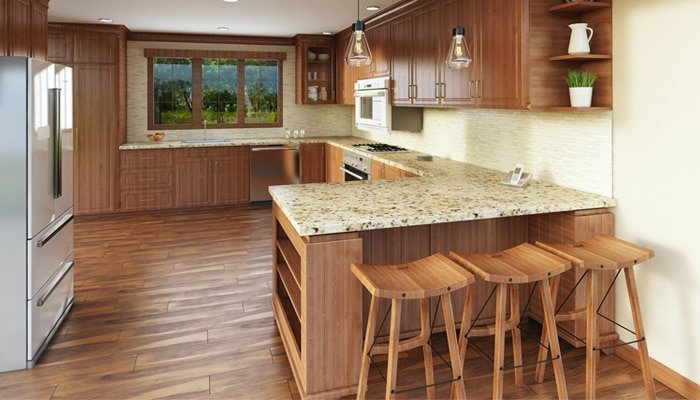 lowdown on hardwood floors in the kitchen