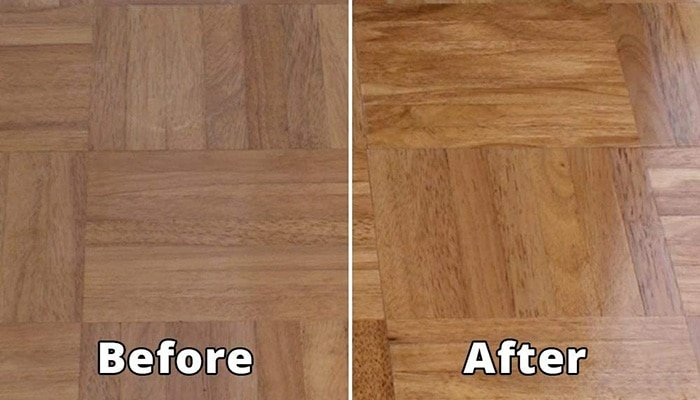 maintaining hardwood finish
