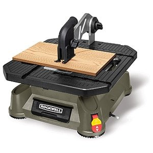 rockwell bladerunner x2 portable tabletop saw with steel rip fence