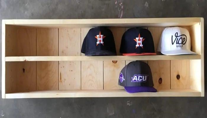 baseball hat organizer