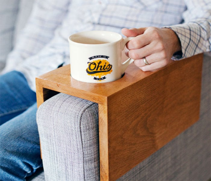 cup holder with sofa sleeve