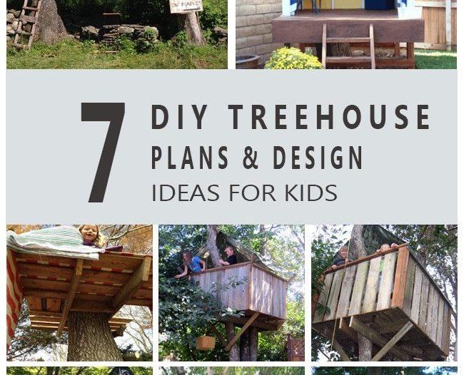 diy treehouse plans