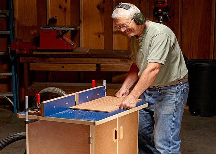 family handyman router table