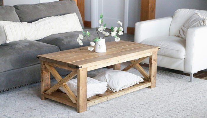 farmhouse coffee table for beginners
