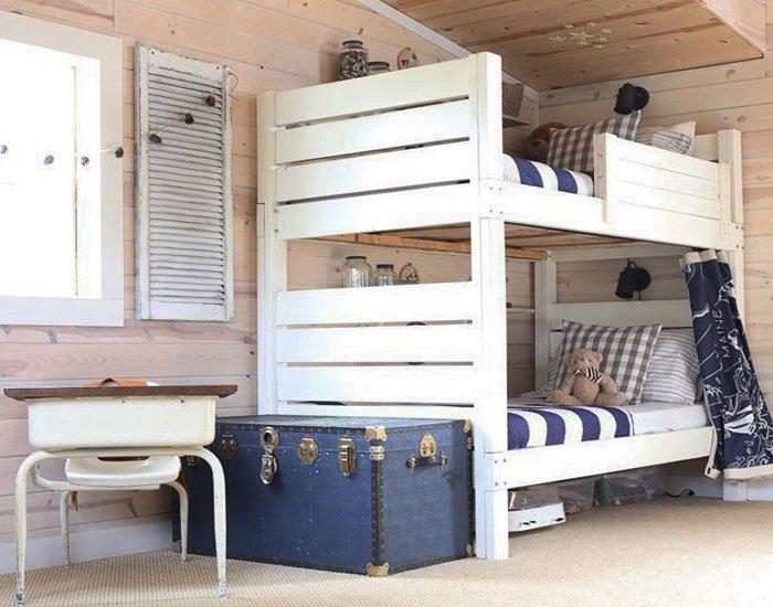 free bunk bed plan