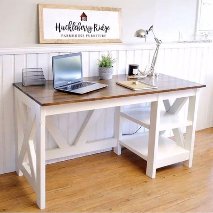 free desk plan