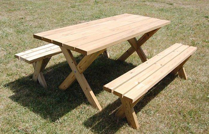 free picnic table plan