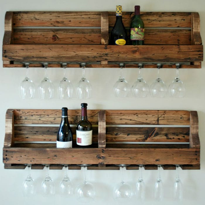 free wine rack plan