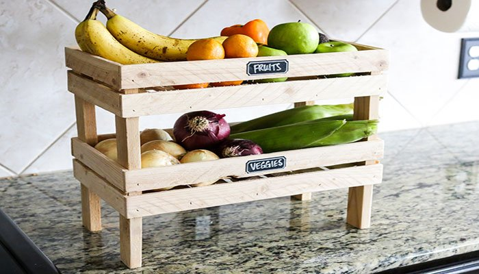fruit and veggie crate