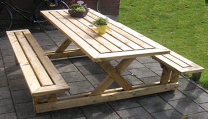 instructables 2x4 picnic table plans