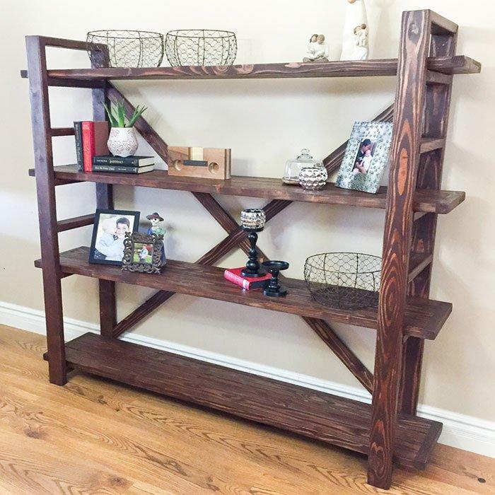jen woodhouse's toscana bookshelf