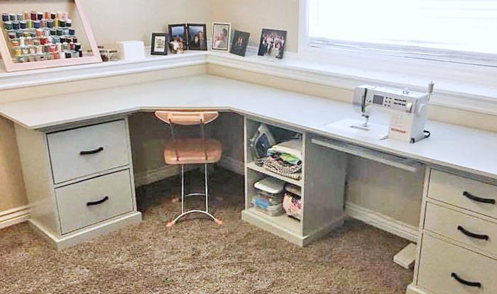 office corner desktop