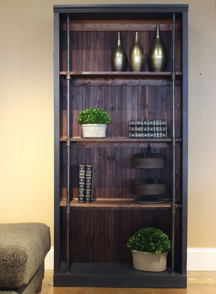 rogue engineer's industrial bookcase