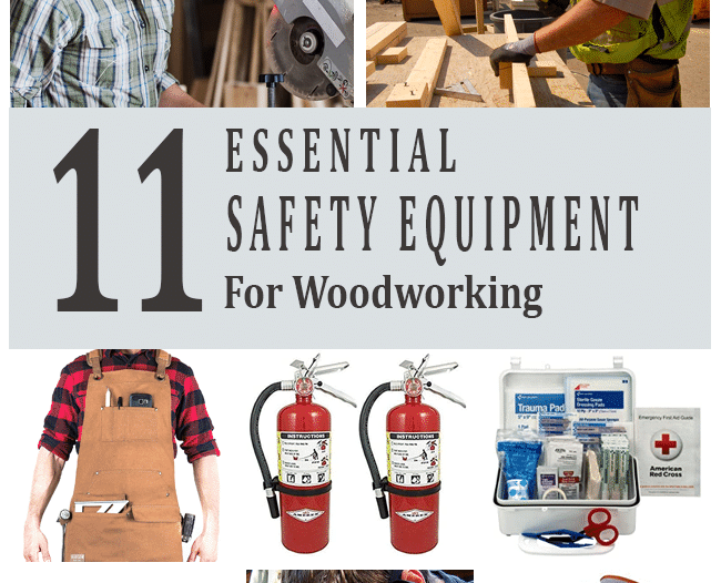 safety equipment for woodworking