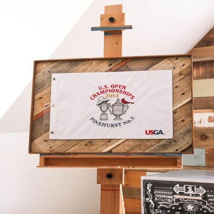 scrap wood shadow box frame