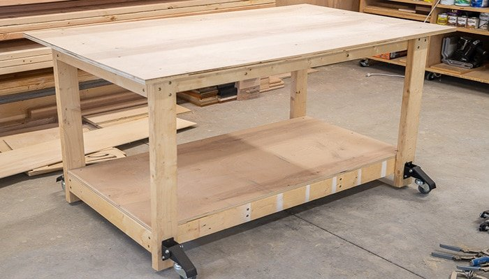 simple mobile workbench