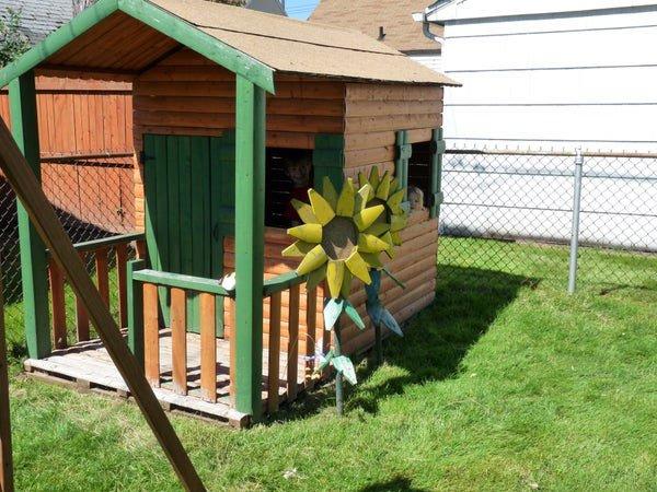 the log cabin playhouse plan