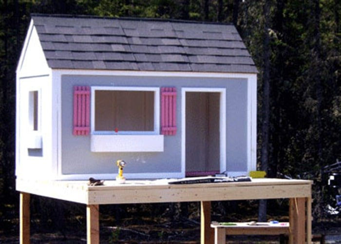 the simple playhouse plan