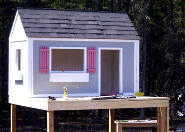 the simple playhouse plan