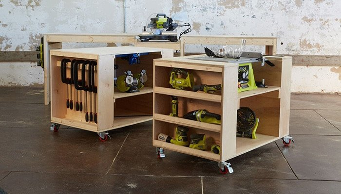 ultimate roll away workbench