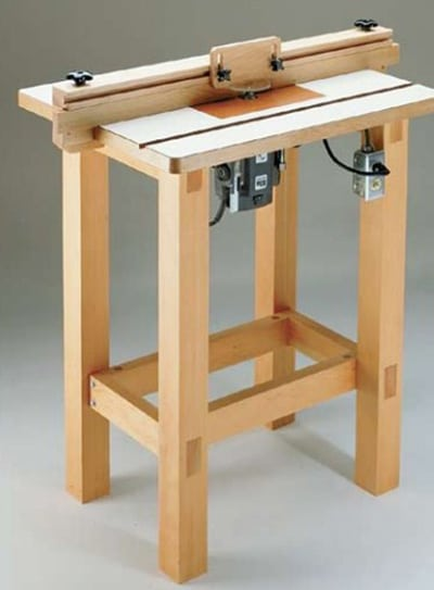 woodsmith shop router table