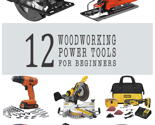 woodworking power tools for beginners