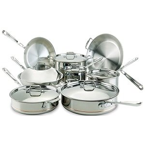 all clad copper core cookware