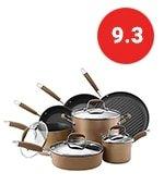 anolon advanced hard anodized nonstick cookware pots and pans set