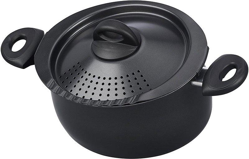 bialetti oval 5 quart nonstick pasta pot