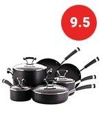 circulon contempo hard anodized nonstick cookware pots and pans set