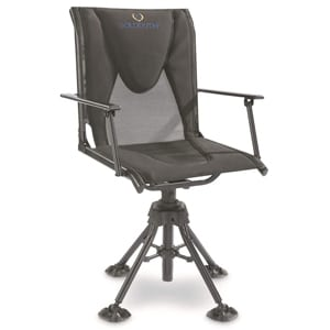 comfort swivel hunting blind chair