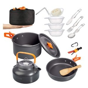 Overmount Camping Cookware Set