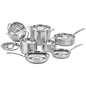 cuisinart 12 piece cookware set
