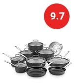 cuisinart chef hard anodized set