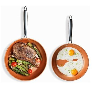 gotham steel hard anodized fry pan