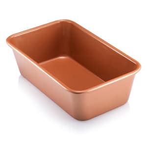 gotham steel pro nonstick loaf baking pan