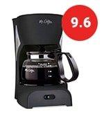 mr. coffee simple brew coffee maker