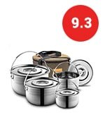 Compact Campfire Cooking Pots and Pans