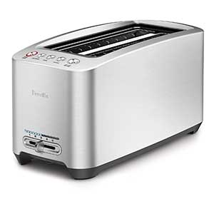 beville 4 slice long slot toaster