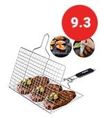 acmetop bbq grill basket stainless steel grilling basket