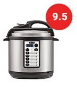 Bella 6 Quart Pressure Cooker