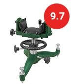 caldwell the rock br adjustable ambidextrous rifle shooting rest