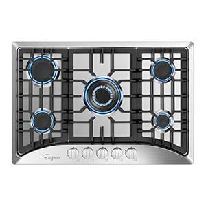 empava gas stoves cooktops