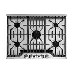 frigidiair professional gas cooktops