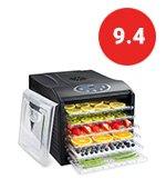 ivation countertop digital food dehydrator