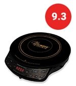 nuwave lightweight induction cooktop with 9 in fry pan